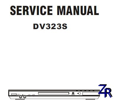 Service Manual - BBK - DV323S [PDF]